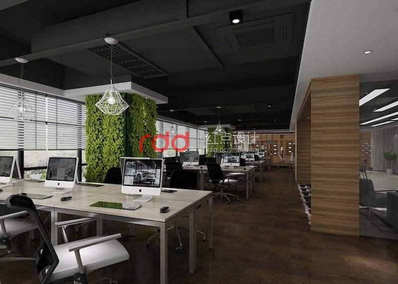 开放式办公室装修设计方向与风格潮流